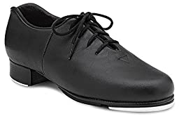 Bloch Girl\'s Audeo Jazz Tap Black Dance Oxfords 11 M