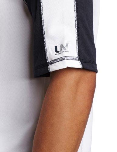 Speedo Men's UPF 50+ Keepin' On Short-Sleeve Rashguard