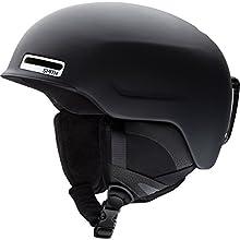 Smith Optics Unisex Adult Maze Snow Sports Helmet - Matte Black Small (51-55CM)