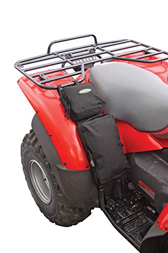 ATV Fender Pack, Black - Black Contour Fender