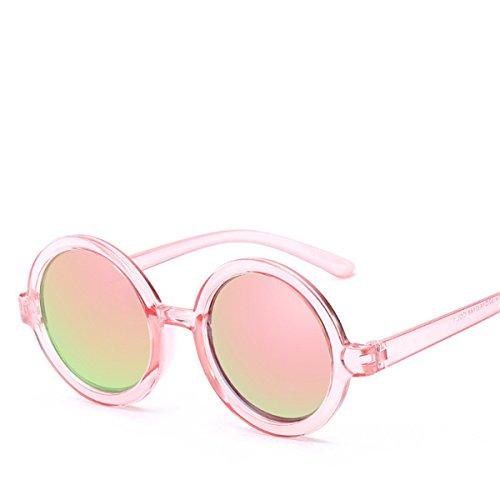 Hombre De Color Sol Transparente Gafas Espejo Marco Prince Gafas Película F Redondo Sol De XGLASSMAKER pqazPa