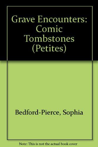 Grave Encounters: Comic Tombstones (Tombstone Epitaphs Halloween)