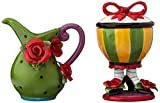 Appletree Design Sugar High Social Sugar and Creamer Set