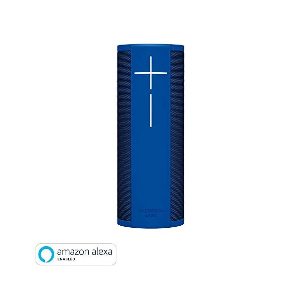 Ultimate Ears MEGABLAST Enceinte portable Wi-Fi/Bluetooth avec service vocal Amazon Alexa intégré (étanche) Bleu 1