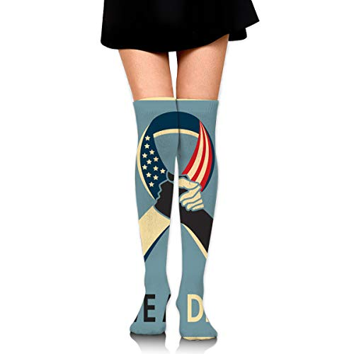Mlk I Have A Dream Martin Luther King Jr Day Female Ladies Women Girl Teen Kid Youth Leg Tall Mid Thigh High Knee Long Tube Over The Knee Stocking Costume Gifts Clothes Dresses Apparel Thy Thi Hi ()