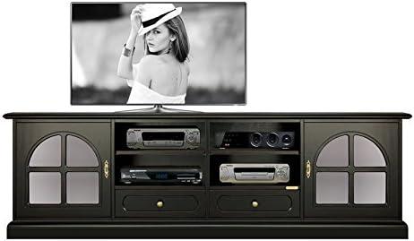 Arteferretto Mueble TV Color Negro, Mueble de salón 2 Metros x ...