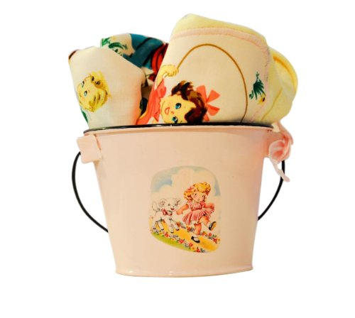 Price comparison product image Vintage-style Jump Rope Lap T & Diaper Cover Gift Set