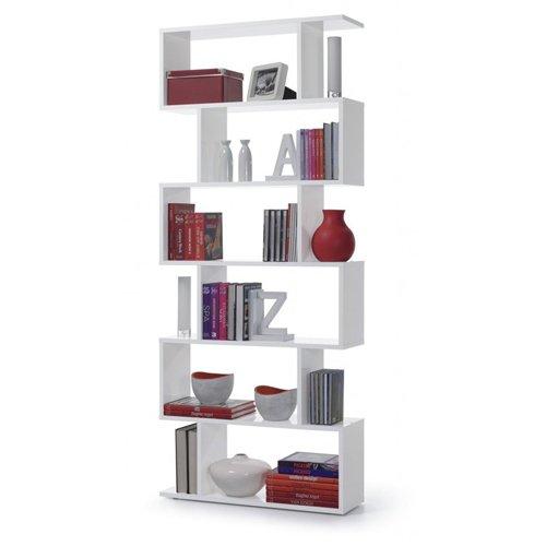 Bookshelf Zig-Zag shelf with 6 Compartments in good order Online ...