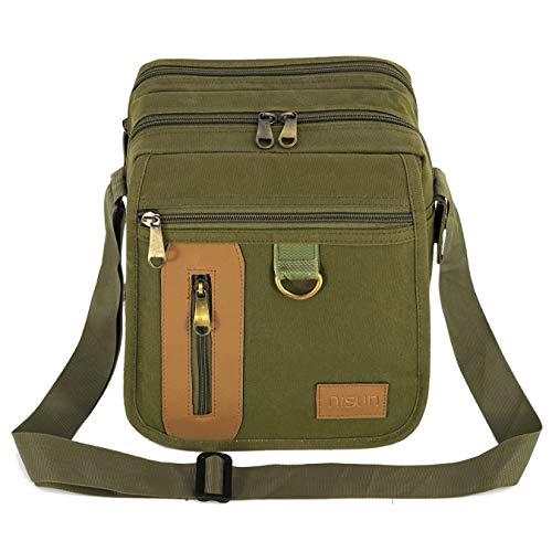 NISUN Sling Cross Body Travel Office Business Messenger One Side Shoulder Bag
