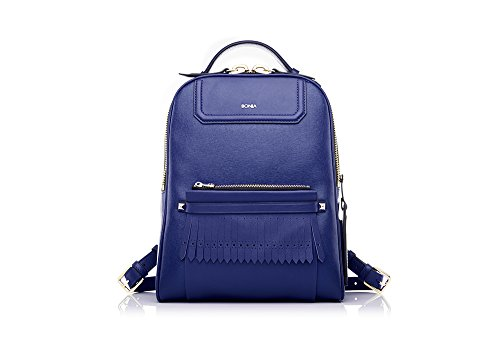 bonia-womans-blue-caelia-backpack
