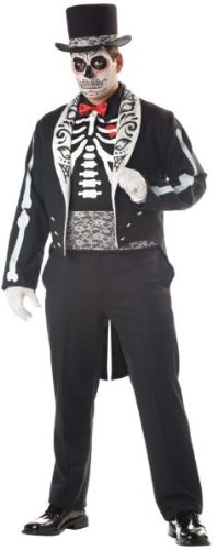 Graveyard Groom Costume - XX-Large - Chest Size 50-52