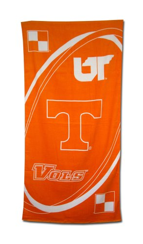 Pool Tennessee - Tennessee Volunteers Fiber Reactive Pool/Beach/Bath Towel (Team Color)