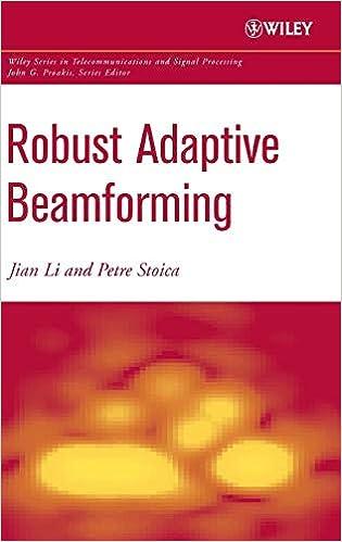 Robust Adaptive Beamforming: Jian Li, Petre Stoica