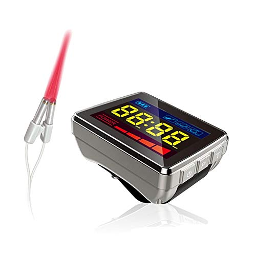 COZING 650nm Laser Therapy Wrist Watch Diode LLLT for Hypertension Treatment