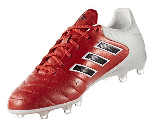 Adidas Mannen Copa 17,2 Fg Voetbal Cleat Rood / Kern Zwart / Schoeisel Wit