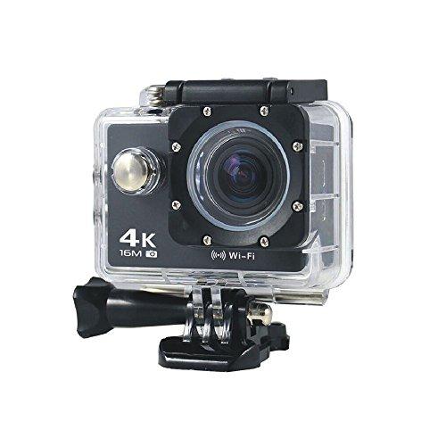 スポーツカメラ 1080Pアクションカメラ 高画質アクションカム 4k 30m防水 WiFi搭載 170度広角レンズ ウェアラブルカメラ 2 0インチ液晶モニター バイク/自転車/車などに取り付け可能