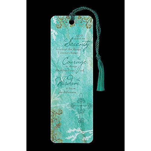 Serenity PrayerTassel Bookmark (Bookmarks Design Damask)