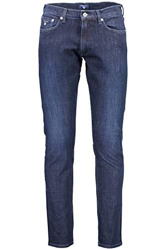 1703 961 Denim Gant Hombre Jeans Blu 1001303 YqZdxd7