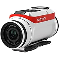 TomTom Bandit 4K Body Mounted Action Cam, Adventure Pack, White