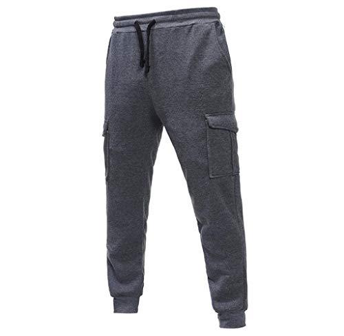 Abbigliamento Jogging Base Dunkelgrau Tapered Lunghi Jeans Chino Da Fit Ragazzi Cargo Sportivo Classiche Autentico Pantaloni Uomo Pant AHwxU