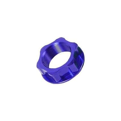ZE58-2022 Blue M22X27-P1.0 H12 ZE58-2022 ZETA Steering Stem Nut /& Bolt