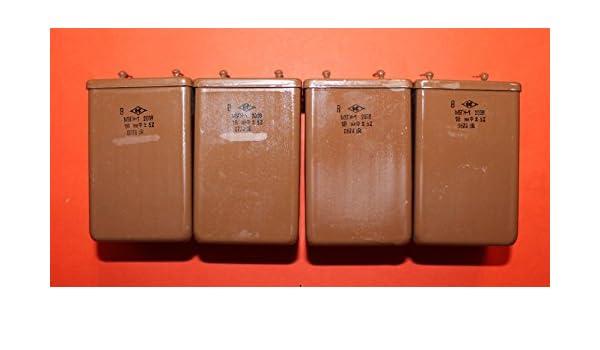 Capacitor PIO MBGN-1 200V 18uF 5/% USSR Lot of 1 pcs