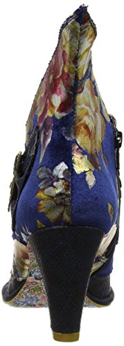 Irregular Choice Miaow, Botines Mujer Azul (Blue/MultiFloral)