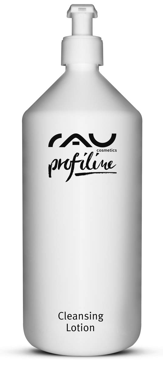 RAU Cleansing Lotion Profiline (33.81 oz) - Natural Deep Cleansing: Gentle and Calming for the Daily Cleansing of the Face and Removal of Make-Up and Dirt Residues, for Normal to Dry Skin