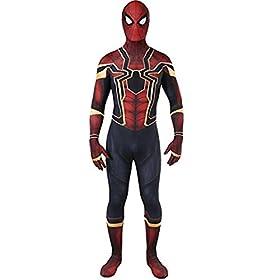 - 41mrtMZ8f0L - HBMaida Unisex Lycra Spandex Zentai Halloween Cosplay Costumes Adult/Kids 3D Style