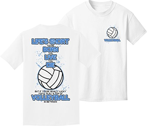 Volleyball T-Shirt: In Between Volleyball