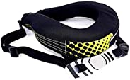 Adult Motorcycle Neck Brace Car Racing Neck Collar Head Support for Motocross/Karting/Racing/Off-Road Cycling