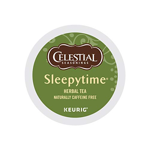 Celestial Seasonings Sleepytime Herbal Tea K Cup 48 Count Case for Keurig Brewers (The Best Sleepy Time Tea)