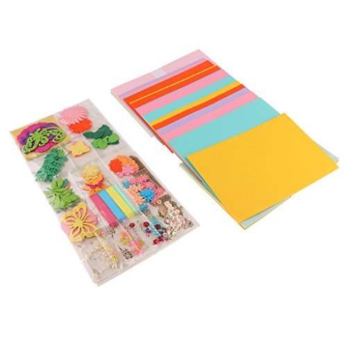 Dovewill DIY Handmade Holiday Greeting Cards Kit Christmas Cards Set Pack of 15 Cards (For Christmas Making Card Kits)