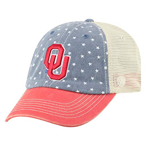 quality design 44145 72c25 Oklahoma Sooners Snapback Hats. Top of the World NCAA ...