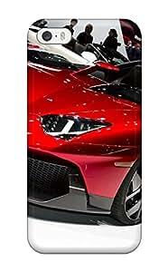 High Impact Dirt/shock Proof Case Cover For Iphone 5/5s (lamborghini Aventador J 36)