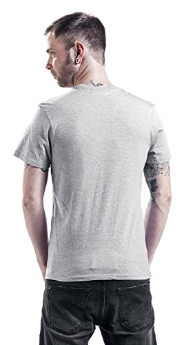 Gudetama Today Herren T-Shirt Grau Melange