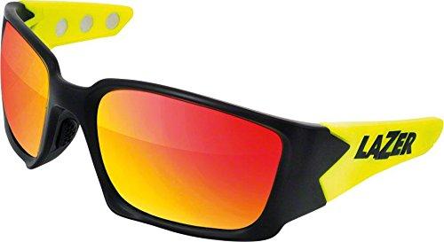 Lazer Magneto M2 Glasses One Größe Matt schwarz   Flash Gelb