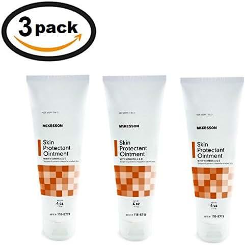 McKesson Vitamin A & D Ointment 4oz Tube (3 Tubes)