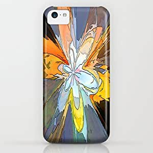 classic - Gold Flower Abstract iPhone & iphone 5c Case by Awesome Palette