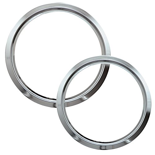 (Range Kleen R68GE Style D Chrome Heavy Duty Trim Rings, Set of 2)