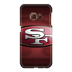 High Quality Phone Case For Samsung Galaxy S6 With Customized Beautiful San Francisco 49ers Pattern Icase88
