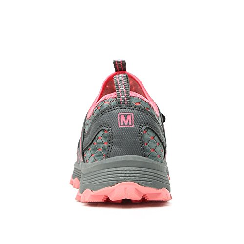 Men Shoes Water Women Boating Hiking amp; Walking SITAILE Sneakers Greyred Outdoor Aqua Amphibious Trail Lightweight dXH5wI5Rnx