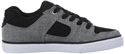 Dc Mens Pure Tx Se Skateschoen Zwart / Grijs / Zwart