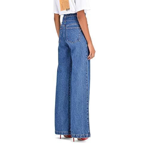Jeans MSGM Donna Blu Cotone 2541MDP40L18479489 6a6qwYC