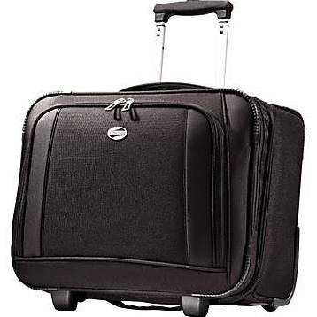 American Tourister Black Wheeled Computer Bag Model #930285
