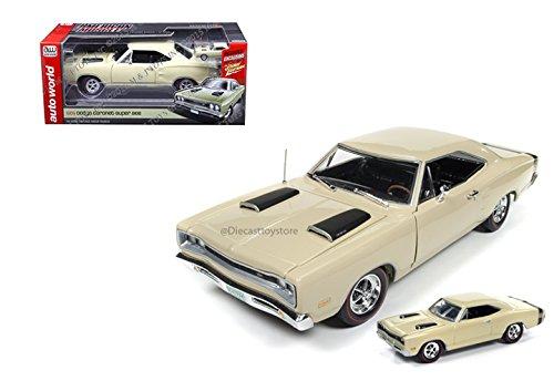[AUTO WORLD 1:18 AMERICAN MUSCLE - 1969 DODGE CORONET SUPER BEE & 1:64 CAR] (1969 Dodge Coronet Super Bee)