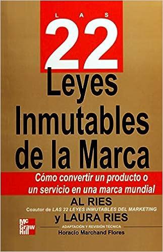 0ea6759169947 Las 22 Leyes Inmutables De La Marca  Al Ries