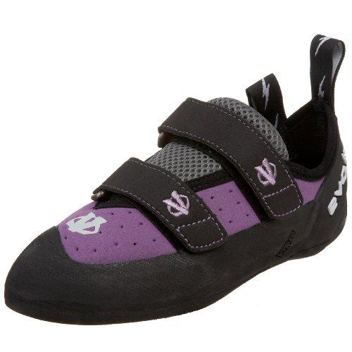 Evolv Women's Electra VTR Climbing Shoe,Violet,6.5 M US, Outdoor Stuffs