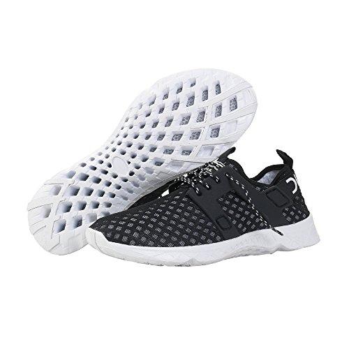 Dude Shoes Men's Mistral Black Airflow Trainer Black