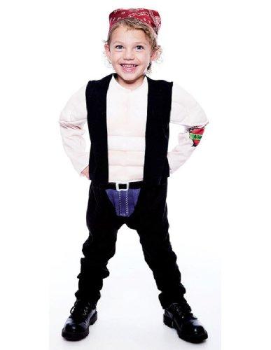 [Lil' Big Biker Toddler Costume, 2T] (Biker Teen Costumes)